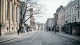 Fototapeta Uliczki - Empty Oxford