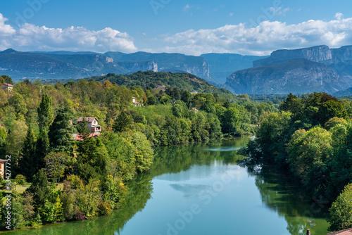 Fotografiet Saint Nazaire en Royans in the Auvergne-Rhone-Alpes region in France