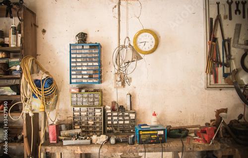 Photo atelier de bricoleur