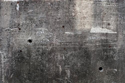 Fotografie, Tablou 汚れたコンクリートの外壁