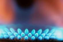 Macro Photo Of Gas Flames