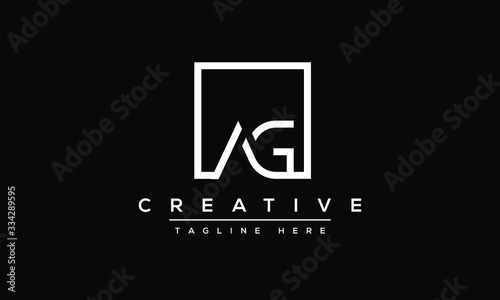 Photo AG Letter Logo Design