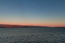 Strait Of Messina At The Sunse...