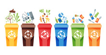 Garbage Collection Recycling. ...