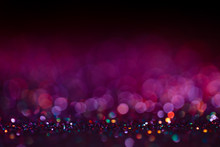 Festive Twinkle Lights Backgro...