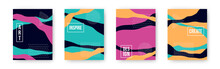 Vector Colorful Set With Abstr...