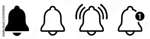Obraz na plátně Notification bell icon