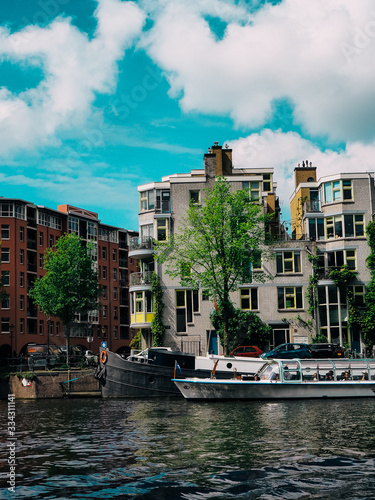 Amsterdam Netherlands, city in Europe Wallpaper Mural