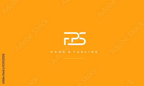 фотография Alphabet letter icon logo FPS