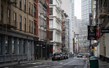 Empty New York City Streets Wi...