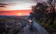 Motorcycle Ride Across Scenic ...