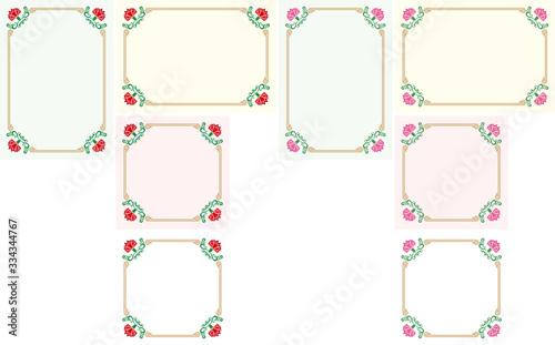 Fototapeta Carnation themed background