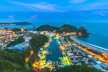 Aerial View Of Suao Harbor In Yilan, Taiwan