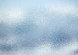 Leinwanddruck Bild - ざらざらした窓ガラスの表面