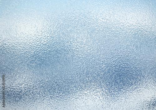 Fototapeta ざらざらした窓ガラスの表面 obraz