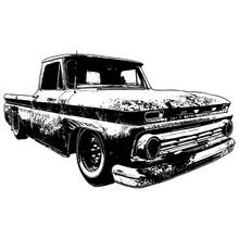 Old Vintage Car Hot Rod Rat Rod