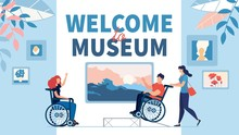 Excursion To Museum For Disabl...