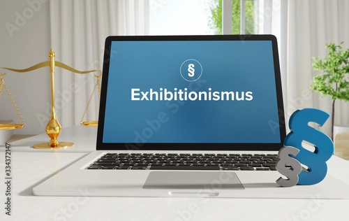 Fotografia, Obraz Exhibitionismus – Recht, Gesetz, Internet