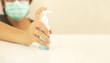 alcohol gel for hands wash