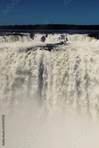 Iguazu waterfalls, Gaarganta de el Diablo Canvas Print
