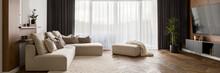 Luxury Living Room, Panorama