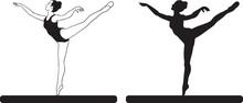 Rhythmic Gymnastics Girl Perfo...