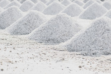 Sea Salt Piles In Evaporation ...