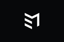 Logo Design Of M ME EM In Vect...