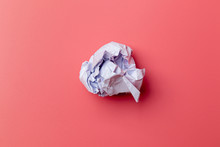 A Ball Of Crumpled Office Pape...