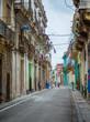 street in old town of havana, cuba