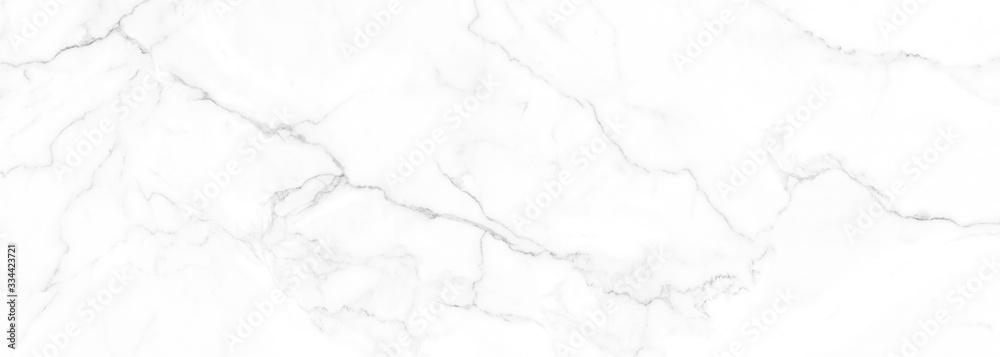 Fototapeta White Carrara marble stone texture