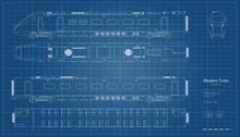 Outline Blueprint Of Modern Tr...