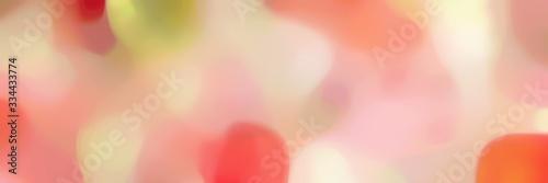 smooth iridescent horizontal header background texture with baby pink, burly woo Obraz na płótnie