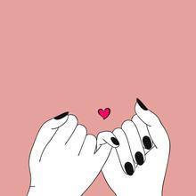 Pinky Promise. Pinky Swear. Ha...