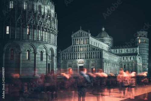 Obraz na płótnie Piazza dei Miracoli, Pisa