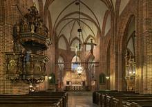 Interior Of St. Mary's Church ...