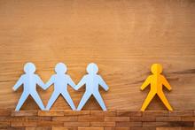 Paper Cutout Human Figures Sep...