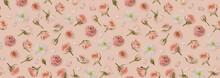Vintage Floral Pattern Made Of...