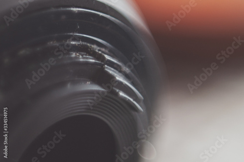 vintage photography of an analogical lense Canvas Print