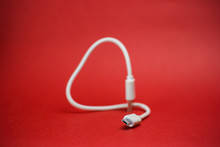 White Wire Micro USB