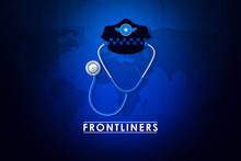 Deep Tribute To Those Soldiers And Doctors On Frontline Fighting Against Virus Abstract Background