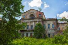 Destroyed Old Manor Near The Village Of Aleksino, Smolensk Region, Russia