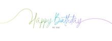 Happy Birthday To You. White B...