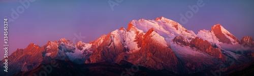 Fotografia, Obraz Dolomites sunrise