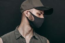 Portrait Of A Man In Black Mask
