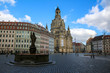 Impressions of the old town in Dresden, Germany