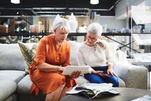 Senior Women With Digital Tabl...