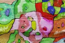 Background- Art Graffiti Wall