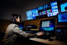 Female TV Director Control Edi...