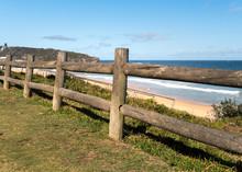 Fence By The Beach,Curl Curl Beach, Australia